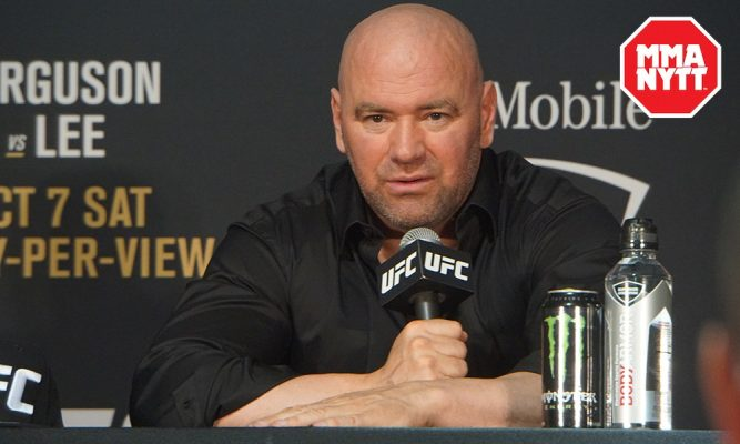 dana white admits he was the only person truly upset about post