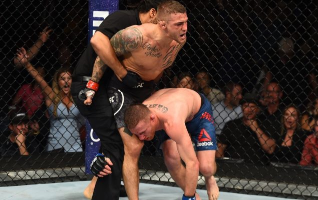 Dustin Poirier TKO's Justin Gaethje in 'Fight of the Year' Performance at  UFC on FOX 29 | MMAnytt.com