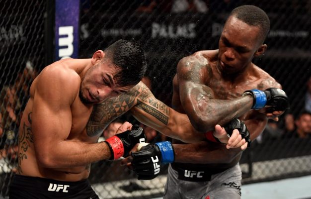 Israel Adesanya Out Classes Brad Tavares Over 5 Rounds to Cap Off TUF 27 Finale