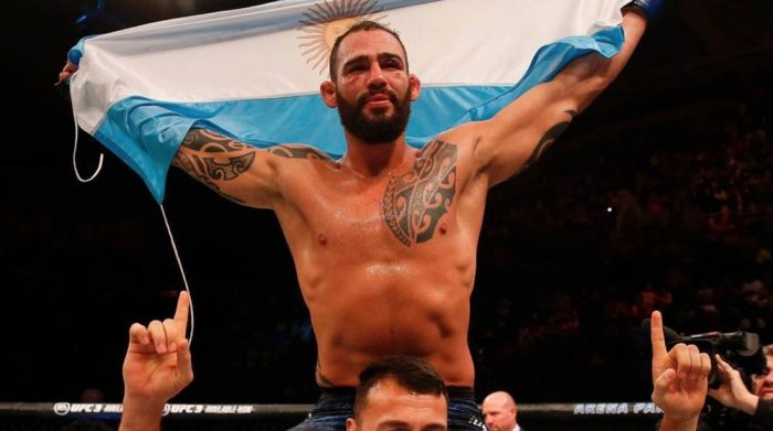Santiago Ponzinibbio Has No Interest In Facing Darren Till Next | MMAnytt.com