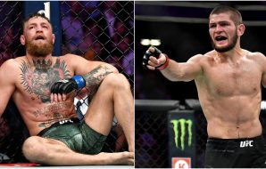 Conor McGregor Khabib Nurmagomeov UFC 229 USA Today