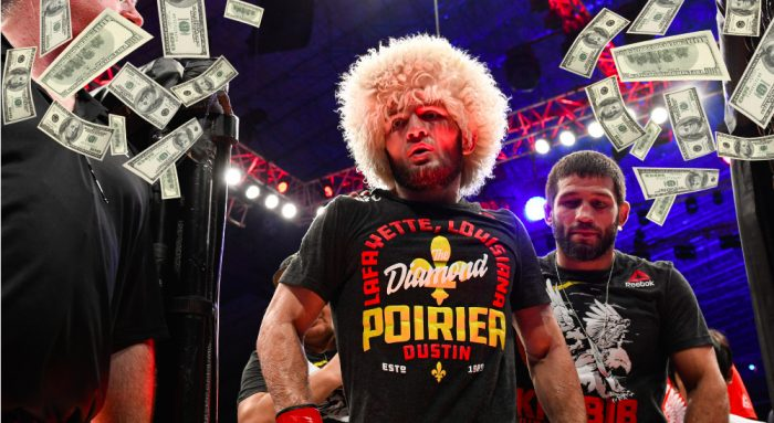 Khabib Nurmagomedov UFC 242 © Per Haljestam-USA TODAY Sports