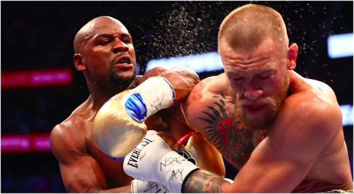 Boxing: Mayweather vs McGregor Credit: Mark J. Rebilas-USA TODAY Sports