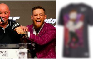 Conor McGregor t-shirt © Noah K. Murray-USA TODAY Sports