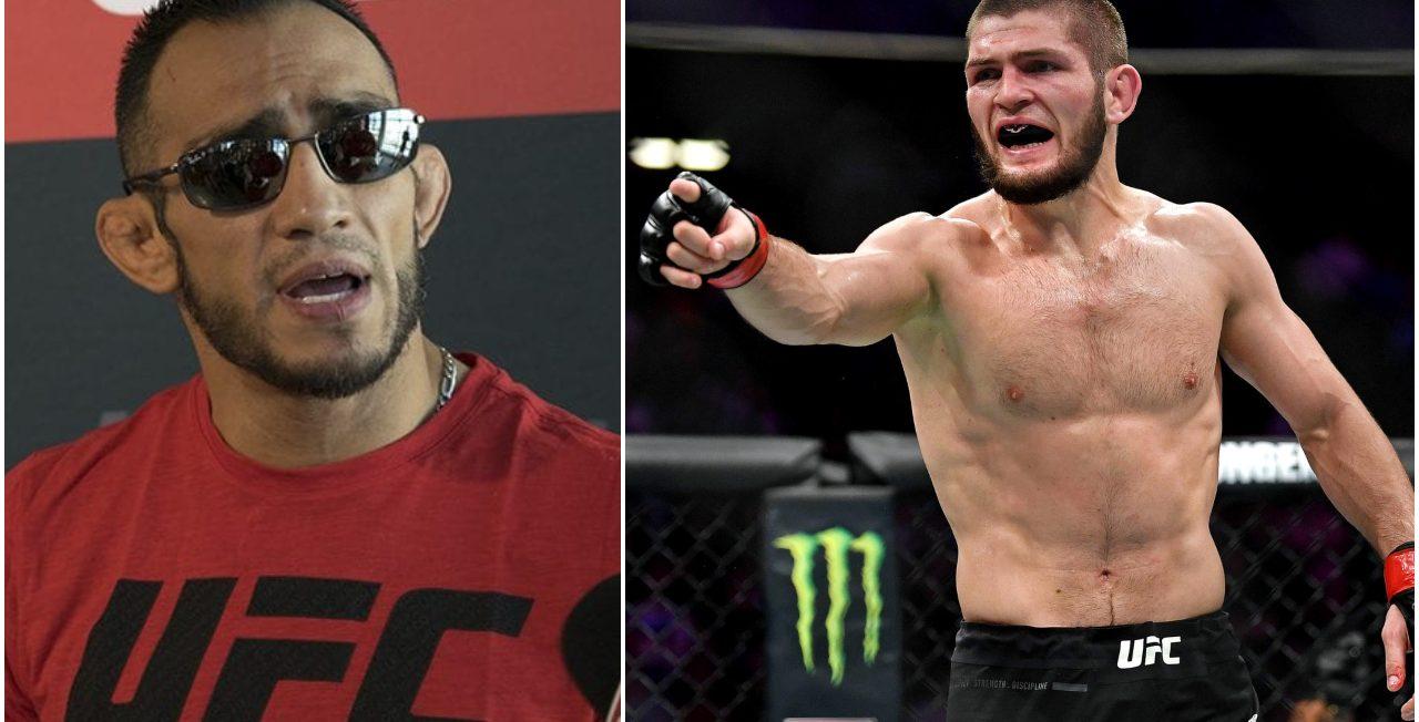 Tony Ferguson haalt uit naar 'bange' Khabib Nurmagomedov: 'Pak zijn UFC titel af!'