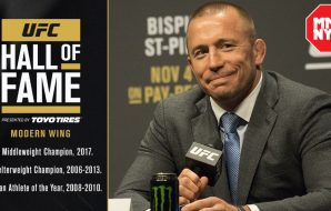 Dana White Georges-St-Pierre-UFC-Hall-of-Fame-Foto-UFC-_-MMAnytt