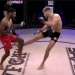 (Video) Watch Cian Cowley Destroy Hardeep Rai With Leg Kicks To Score First Round TKO At BRAVE 18